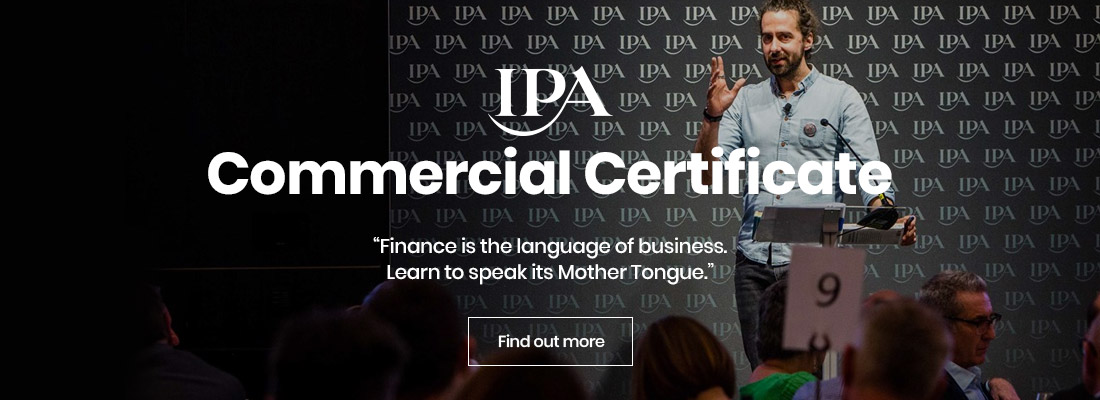 IPA Commercial Certificate