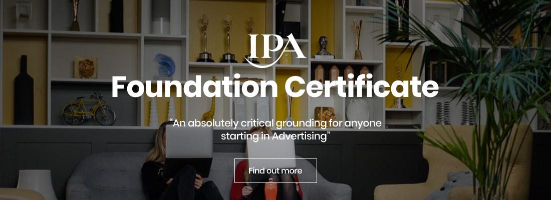 IPA Foundation Certificate
