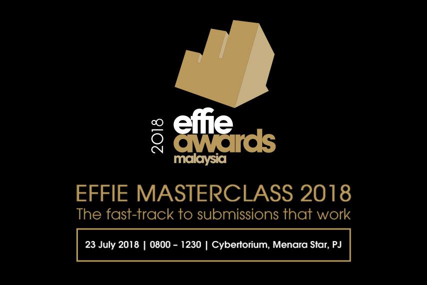 Effie Masterclass 2018