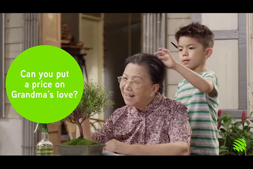 Money That Grandma Owes Me – a CNY 2017 film by Maxis
